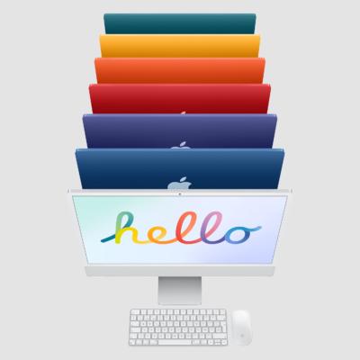 """Nuevo iMac 24"""""""